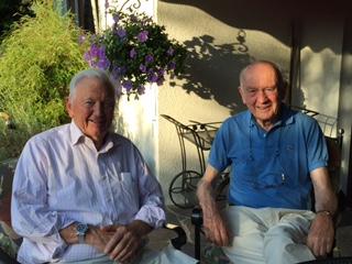 Bill Wasch '52 and Willi Brenner '52