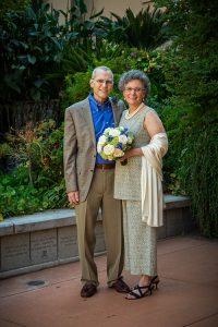Andrea Corney '83 and Chris Carneghi wedding